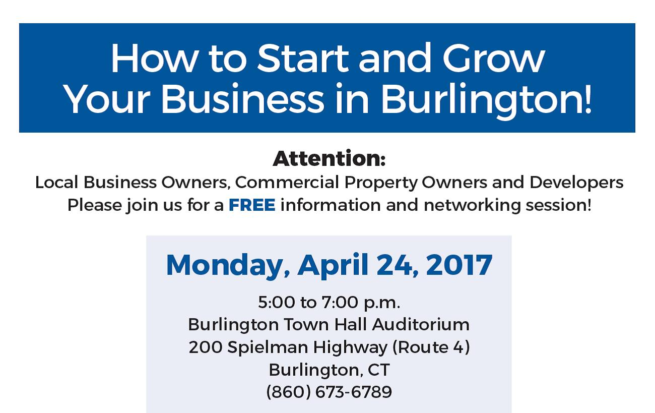 Free SBA & Town Event: How to Start & Grow Your Business in