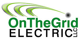 OnTheGrid Electric logo in green