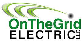 OnTheGrid Electric logo in green