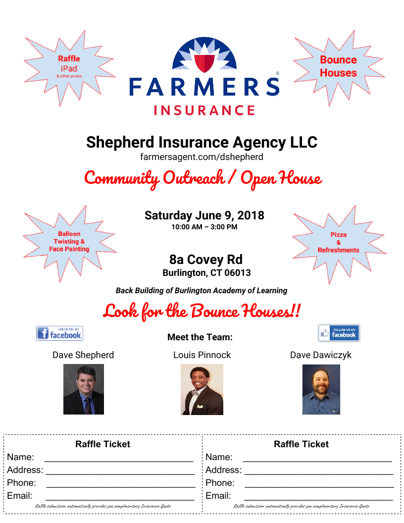 Farmers House Insurance >> New Member Farmers Insurance Open House June 9th