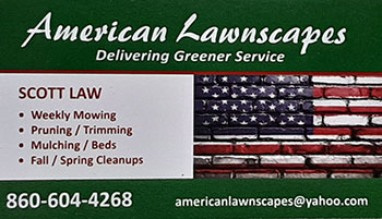 American Lawnscapes business card